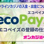 エコペイズ登録方法・ecoPayzエコペイズに登録してみよう(入金・出金)